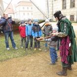 Litomyšl s rytířem Toulovcem, návštěva Toulovcových maštalí 24.3.2018