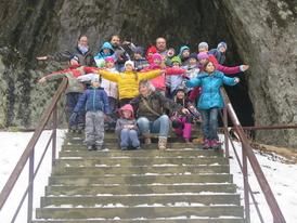 Dům přírody a sloupsko-šošůvské jeskyně v Moravském krasu 27.1.2018