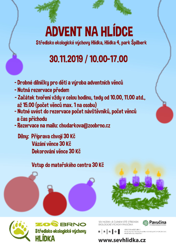 Advent na Hlídce 30.11.2019