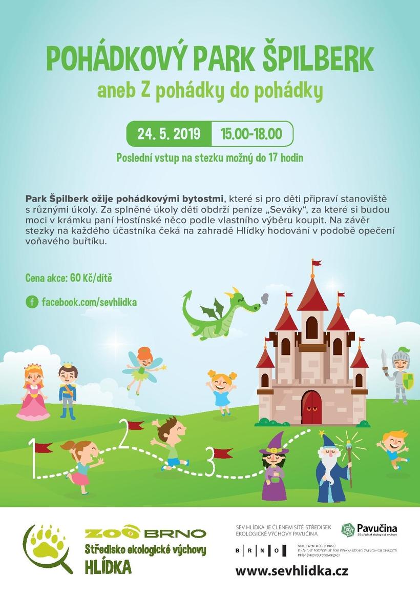 Pohádkový park Špilberk 24.5.2019